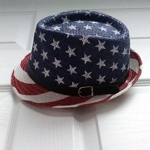 American Flag Fedora